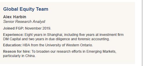 Global Equity Team